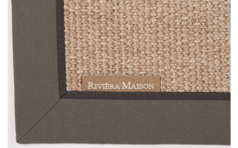 Vloerkleed Rivièra Maison EdgarTown 21 Grey band RM 21