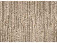 Handgeweven karpet bestaande uit zuiver wollen garen