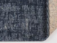 Vintage vloerkleed donkerblauw Réal-35