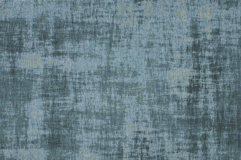 Turquoise vintage vloerkleed in patchwork stijl. - Floorpassion