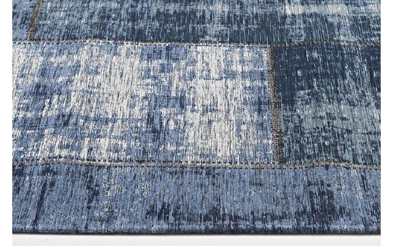 Vintage Vloerkleed Donkerblauw Enzo-36