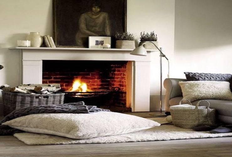 Lage temperaturen vragen om warme vloerkleden