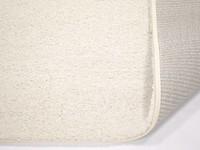 Liv 11 - Rond hoogpolig vloerkleed in zuiver Wit
