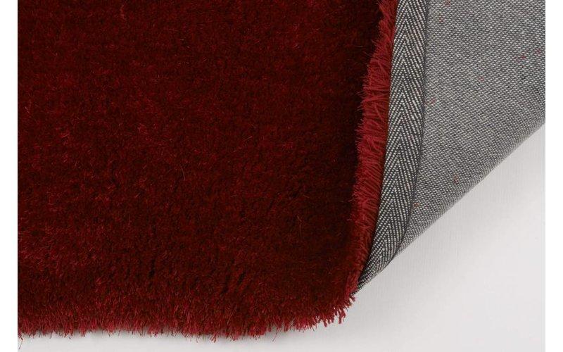Ross 45 - Rond vloerkleed in rode kleursamenstelling