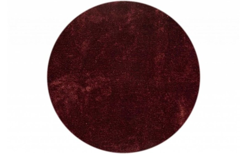 Rond vloerkleed Ross 47 Bordeaux