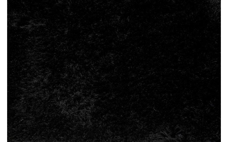 Rond vloerkleed Ross 25 Zwart