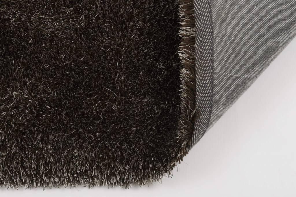 Hoogpolig Tapijt Slaapkamer : Bruin rond hoogpolig vloerkleed ross floorpassion