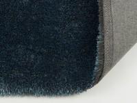 Ross 32 - Rond hoogpolig vloerkleed in petrol kleursamenstelling
