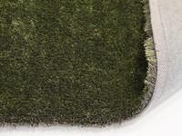 Rond vloerkleed Ross 55 Mix Antraciet/Groen