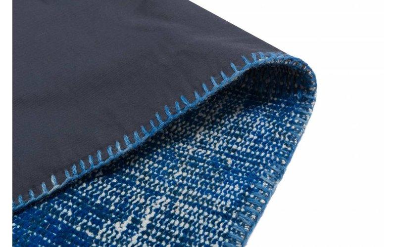 Vloerkleed Patchwork Donkerblauw 170 x 240 cm