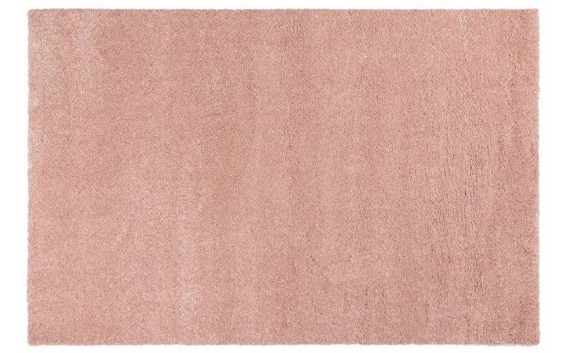 Hoogpolig vloerkleed roze Liv