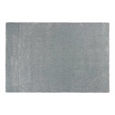 Hoogpolig vloerkleed lichtblauw Liv