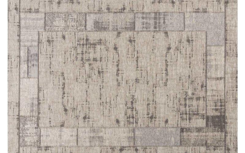 Vintage vloerkleed in de kleur grijs