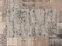 Vintage vloerkleed in beige en grijs Carey-15