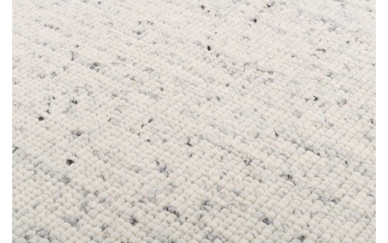 Beach Life 20 - Frans Molenaar vloerkleed van 100% wollen in Wit Marmeren kleursamenstelling