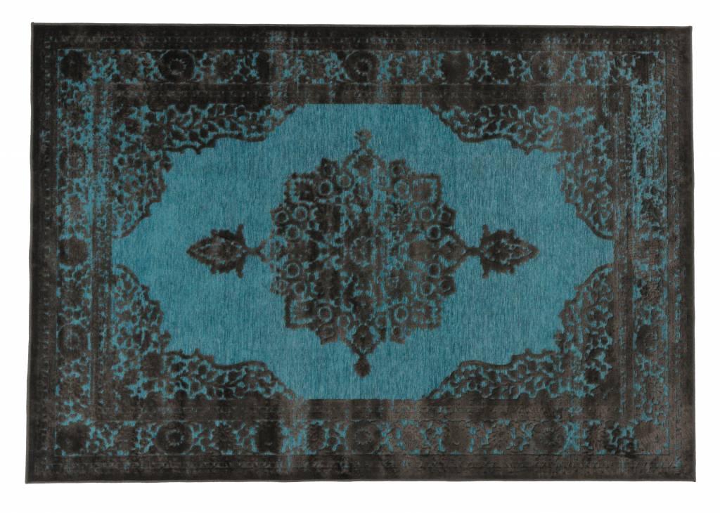 Blauw Perzisch Tapijt : Fraai perzisch blauw rood kashan tapijt ca cm schade