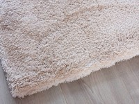 Destino Beige - Zacht hoogpolig vloerkleed in het beige