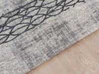 Fiber 21 - Geweven vloerkleed in Lichtgrijze kleurstelling