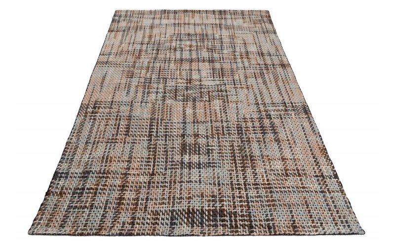 Leela 17 - Handgeweven vloerkleed in Multi kleuren