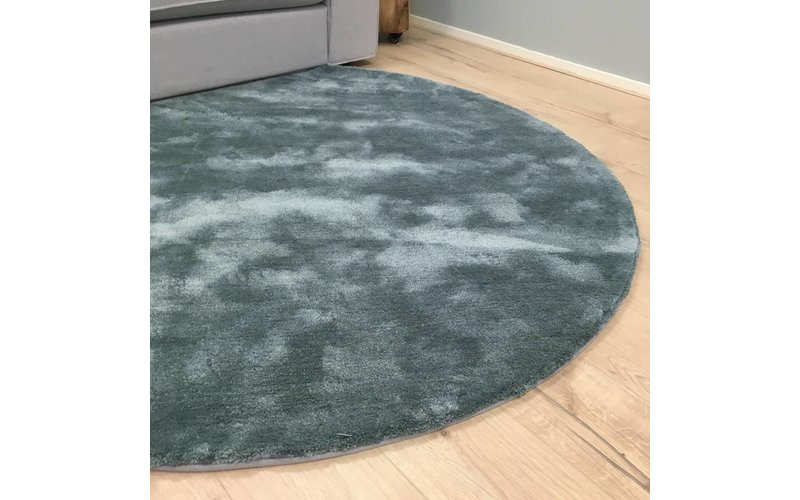 Rond vloerkleed Sandro-32 Faded Green