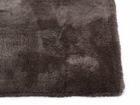 Sandro 23 - Modern hoogpolig vloerkleed in Wolf Grey