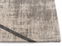 Hailey 23 - Prachtig geometrisch vloerkleed in steengrijs en grijsblauwe kleurstelling