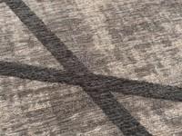 Hailey 23 - Prachtig geometrisch vloerkleed in grijs/blauwe kleursamenstelling