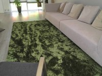 Vloerkleed Ross 55 Mix Antraciet/Groen