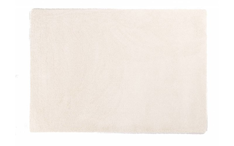 Liv 11 - Hoogpolig vloerkleed in zuiver Wit