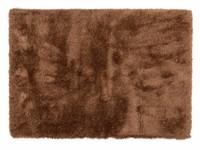 Hoogpolig vloerkleed donkerbruin - Chester 16