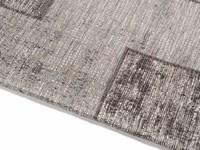 Gaia 23 - Vintage vloerkleed in Grijze kleurstelling