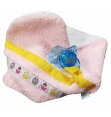 izzybizzybee® Schmusetuch / Schnullertuch Cupcakes