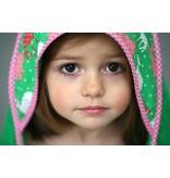 izzybizzybee® Kapuzenbadetuch Little Lamb - MAXI (4-7 Jahre)