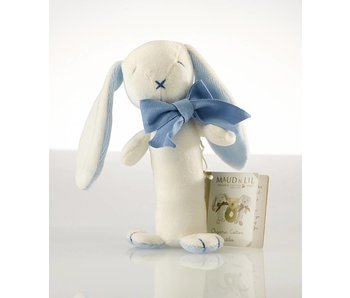 Maud N Lil Babyrassel Kaninchen Blau