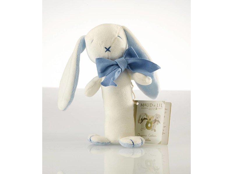 Maud N Lil Babyrassel Kaninchen Blau - Öko
