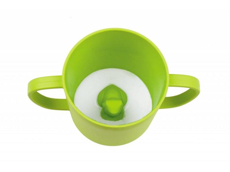 JJ Rabbit CUPPIES® Frog Trinklernbecher