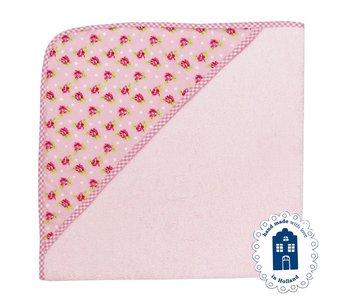 izzybizzybee® Badcape Dotty Rose BABY
