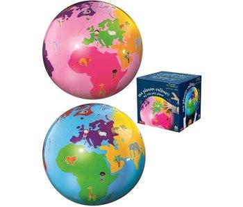Caly My Roly Poly Planet Opblaasbare Wereldbol