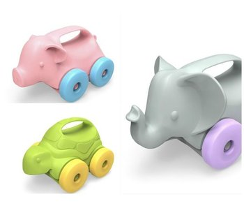 GreenToys Animals On Wheels