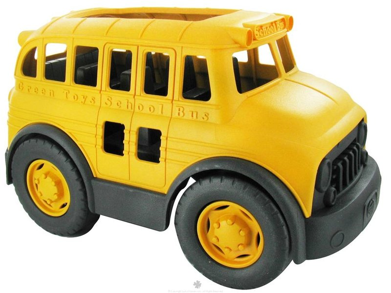 GreenToys Schoolbus 100% gerecycled plastic