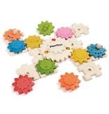 Plan Toys Zahnrad Puzzle Deluxe - nachhaltiges und lehrreiches Spielzeug
