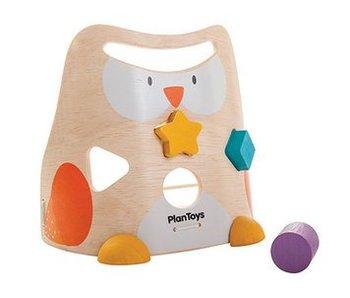 Plan Toys Eulen-Steckspielzeug