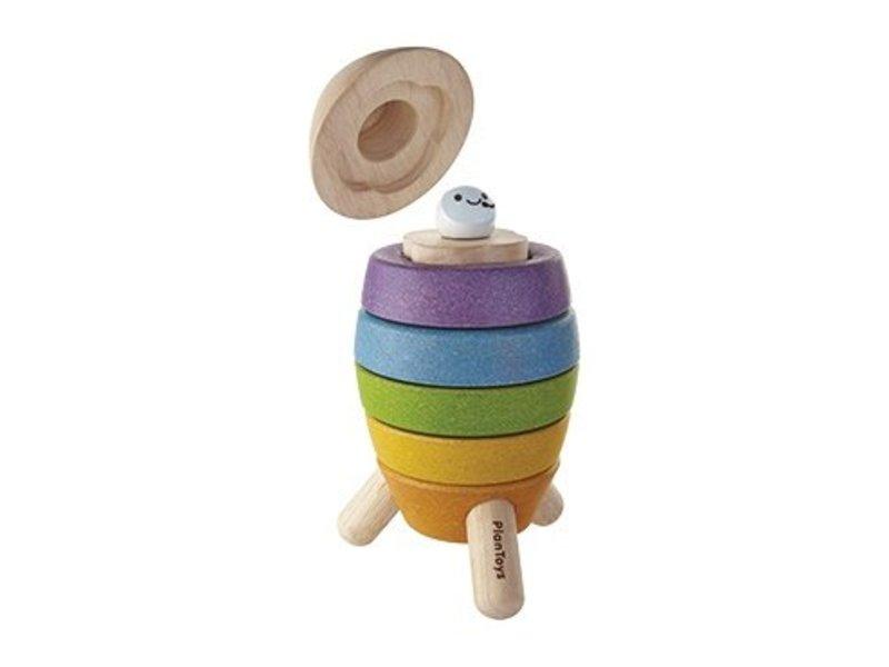 Plan Toys Stapelspeelgoed Raket