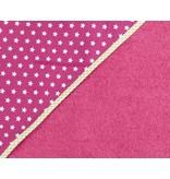 izzybizzybee® Badcape Stars Pink BABY