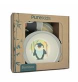 Pure Kids Kinderservies Bamboe Pinguin