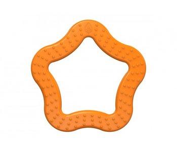 Bioserie Bijtring 100% bioplastic - orange