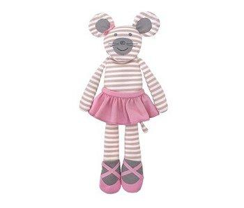 Apple Park Knuffelpop Ballerina Mouse