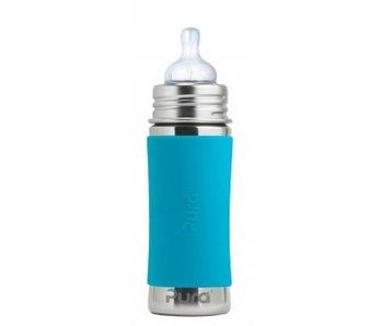 Pura Babyflasche Edelstahl 325 ml - Aqua