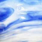 Bullseye - summer sky blue - 18x16 cm
