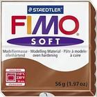 FIMO Fimo soft 7 - Caramel - 56 gram